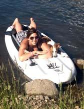 Lauren in a cannu