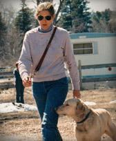 Alison walking